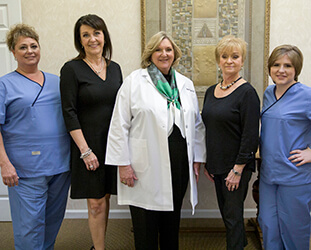 Dr. Deborah Bishop and Huntsville dental team
